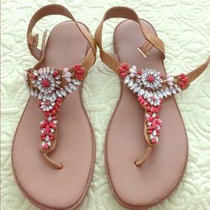 Torrid Bejeweled Sandals